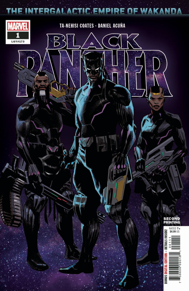 Black Panther #1 (Acuna 2nd Printing)