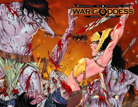 War Goddess #9 (Wrap Cover)