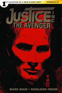 Justice Inc.: The Avenger #5 (Francavilla Cover)