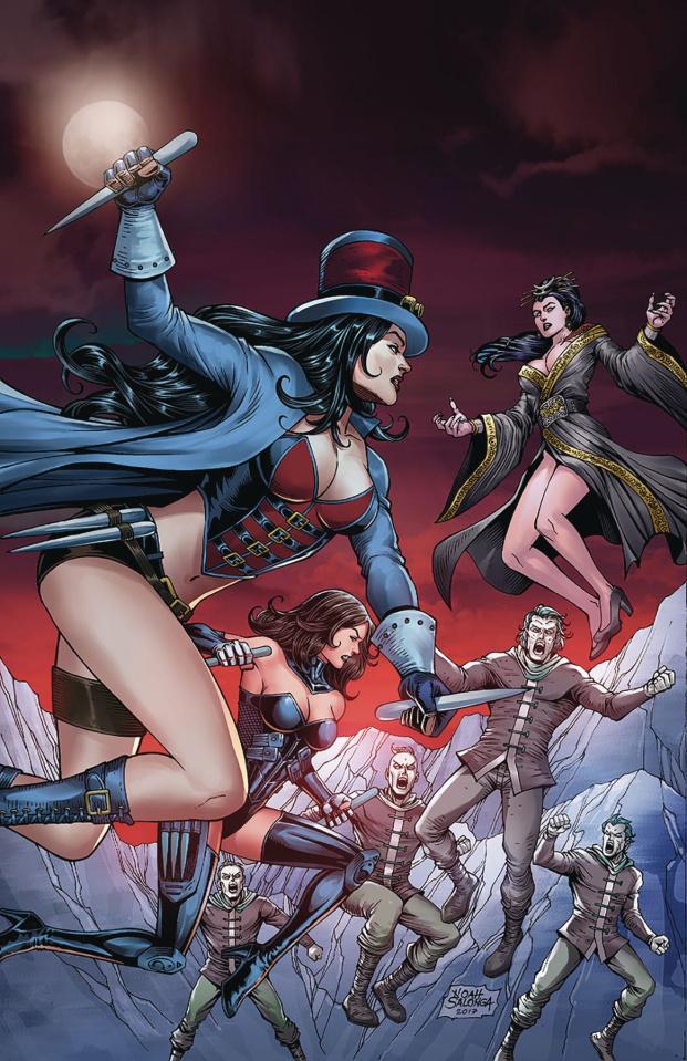 Van Helsing vs. The Werewolf #5 (Salonga Cover)