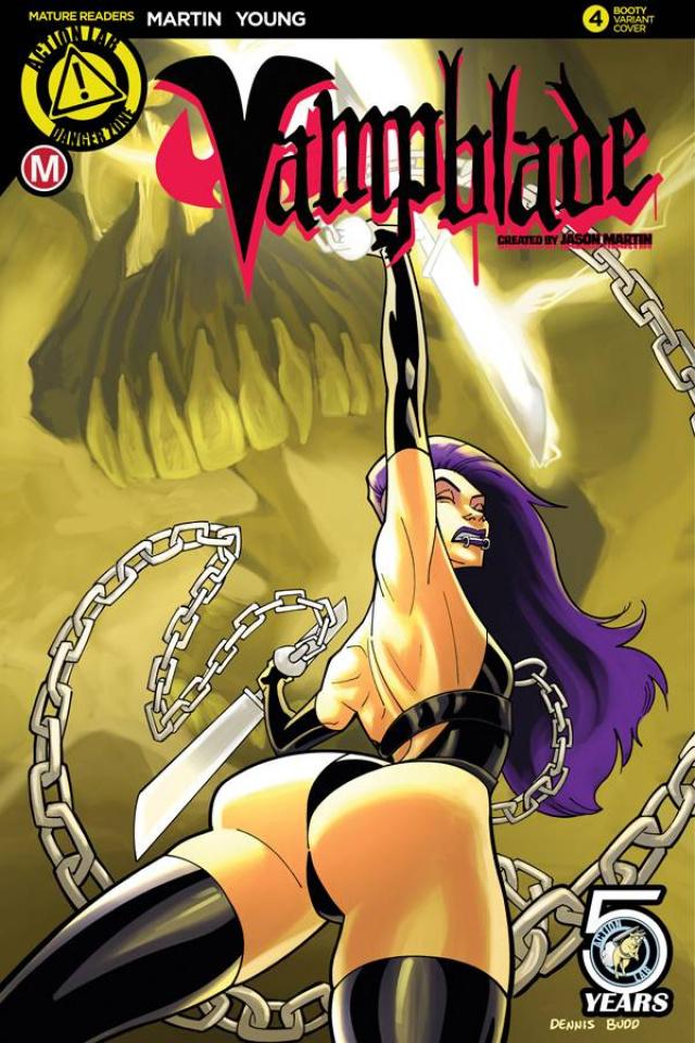 Vampblade #4 (Booty Cover)