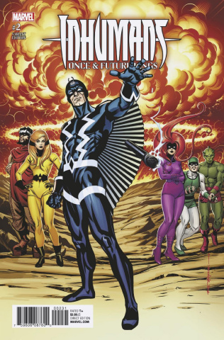 Inhumans: Once & Future Kings #2 (Stelfreeze Cover)