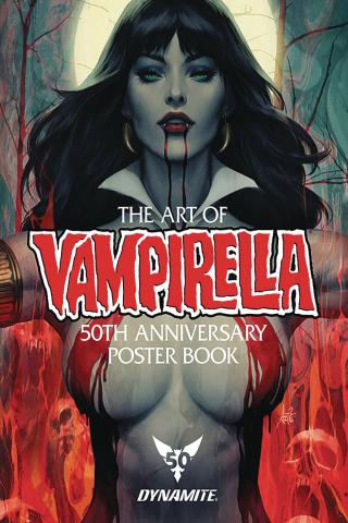 Vampirella: 50th Anniversary Poster Collection