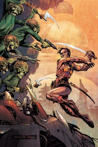 Warlord of Mars Attacks #3 (40 Copy Morales Virgin Cover)