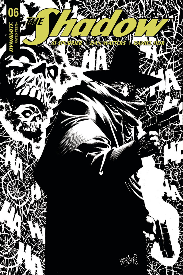 The Shadow #6 (40 Copy Jones B&W Cover)