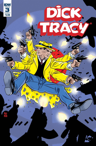 Dick Tracy: Dead or Alive #3 (Allred Cover)