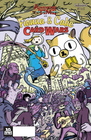Adventure Time with Fionna & Cake: Card Wars #1 (Subscription Cover)