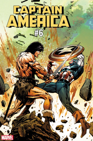 Captain America #6 (Guice Conan Cover)