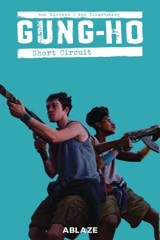 Gung-Ho #6 (Clarke Cover)