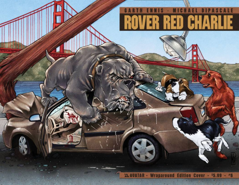 Rover Red Charlie #6 (Wrap Cover)