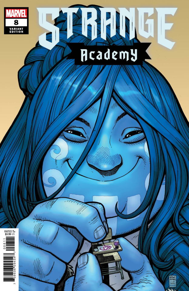Strange Academy #8 (Art Adams Character Spotlight Cover)