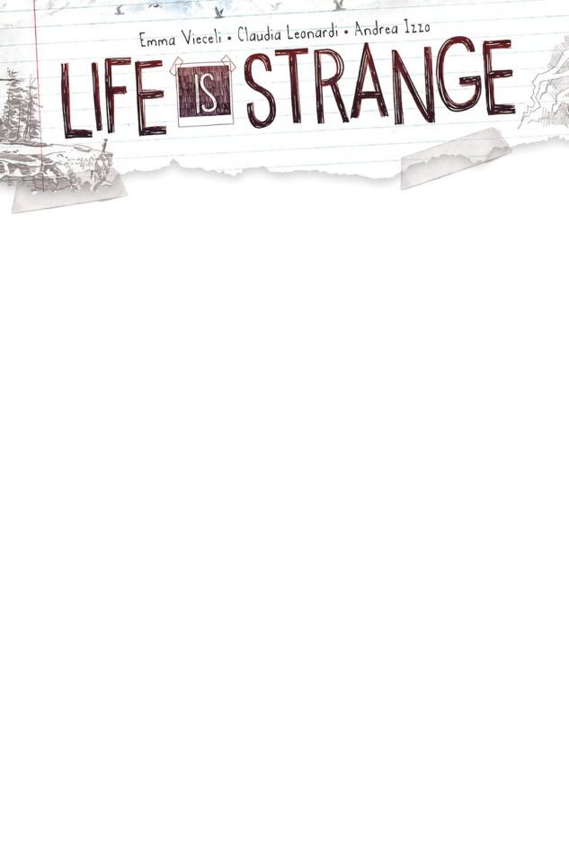 Life is Strange #5 (Blank Sketch Cover)