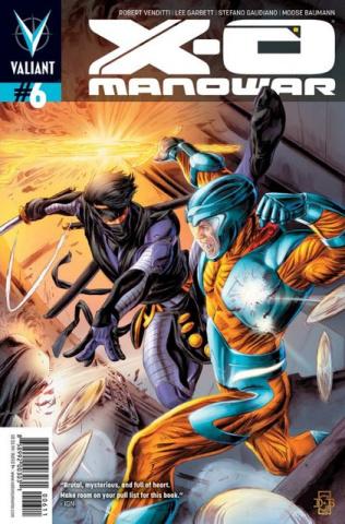 X-O Manowar #6