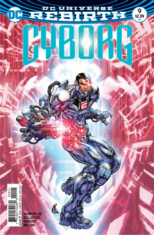 Cyborg #9 (Variant Cover)