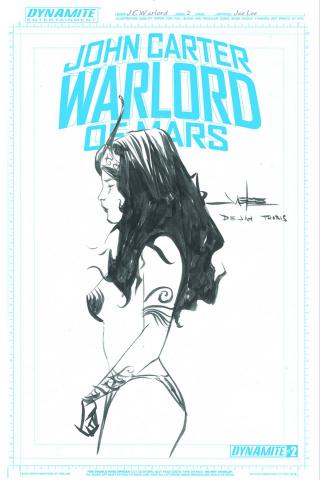 John Carter: Warlord of Mars #2 (30 Copy Lee Artboard Cover)