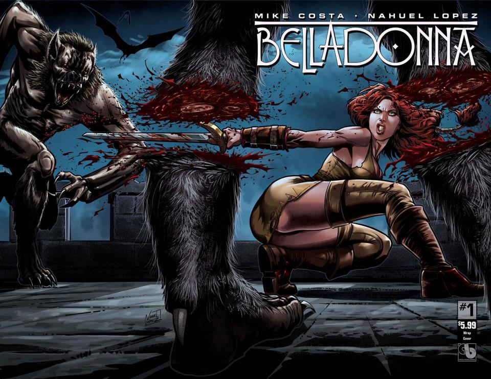 Belladonna #1 (Wrap Cover)