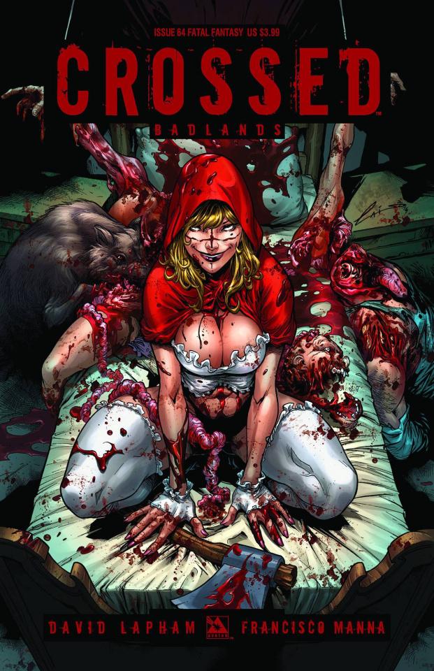 Crossed: Badlands #64 (Fatal Fantasy Cover)