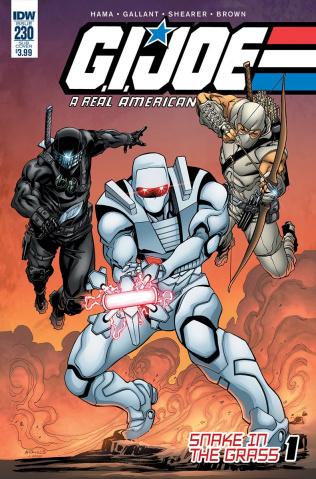 G.I. Joe: A Real American Hero #230 (ROM Cover)