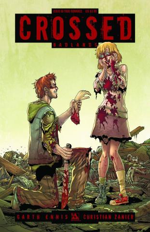 Crossed: Badlands #50 (True Romance Cover)