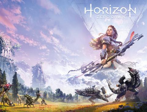 Horizon: Zero Dawn #2 (Game Art Wrap Cover)