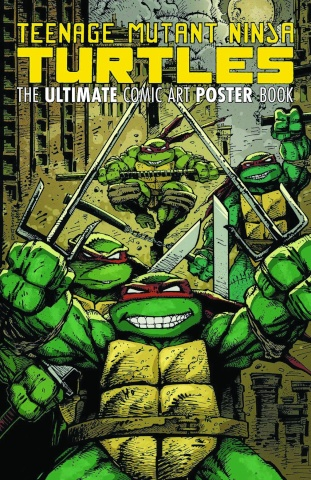Teenage Mutant Ninja Turtles: The Ultimate Comic Art Poster Book