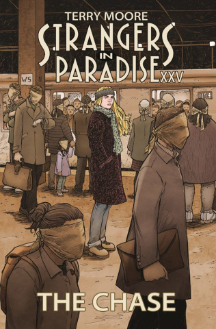 Strangers in Paradise XXV Vol. 1: The Chase