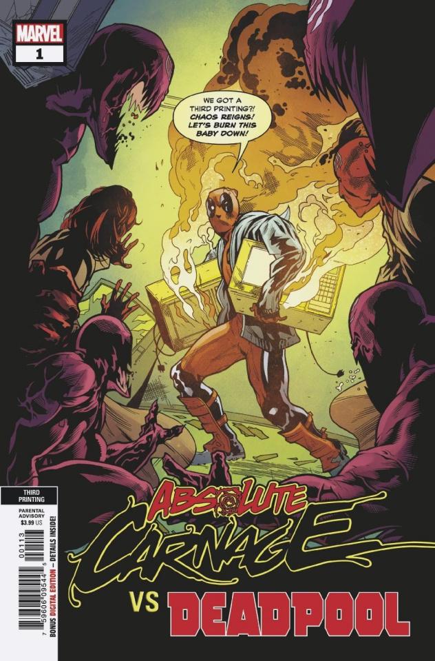Absolute Carnage vs. Deadpool #1 (3rd Printing)