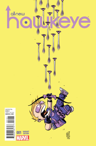 All-New Hawkeye #1 (Young Cover)