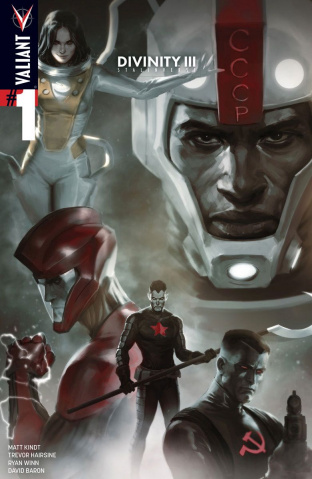 Divinity III: Stalinverse #1 (Djurdjevic Cover)