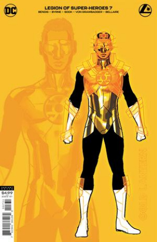 The Legion of Super Heroes #7 (1:25 Ryan Sook Gold Lantern Card Stock Cover)