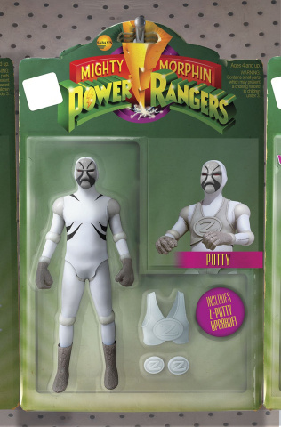 Mighty Morphin' Power Rangers #11 (Unlock Action Figure Cover)