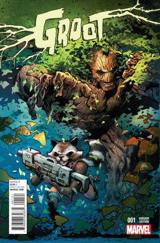 Groot #1 (Stegman Cover)