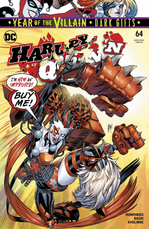 Harley Quinn #64 (Dark Gifts Cover)