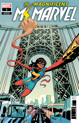 The Magnificent Ms. Marvel #1 (Charretier Cover)