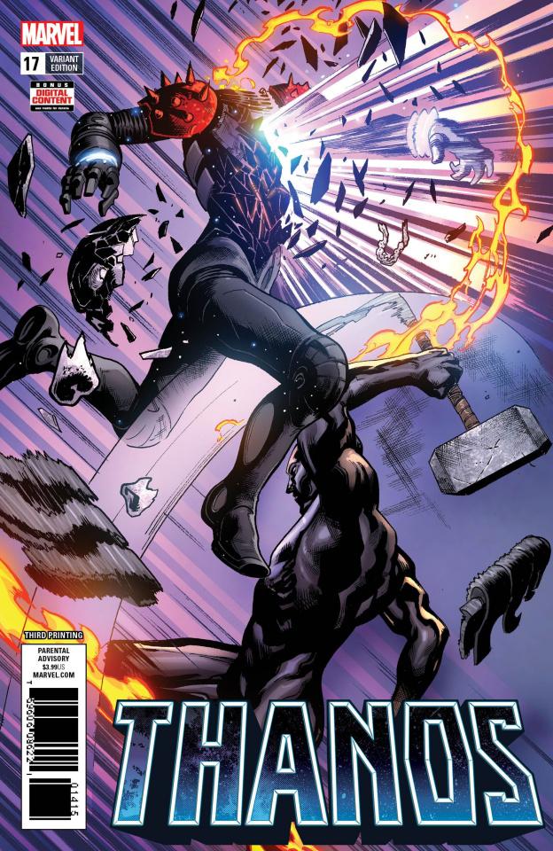 Thanos #17 (Shaw 3rd Printing)