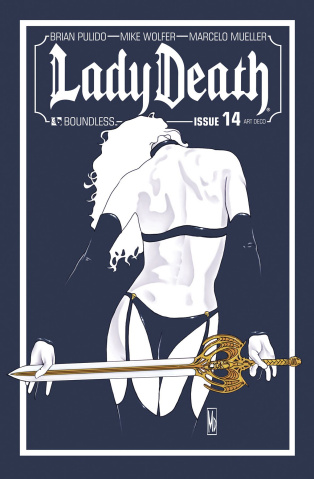 Lady Death #14 (Art Deco Variant Cover)