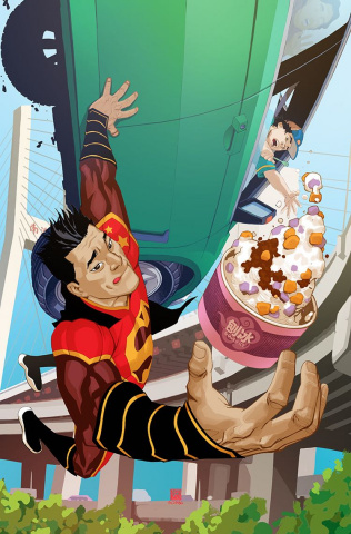 New Super-Man #13 (Variant Cover)