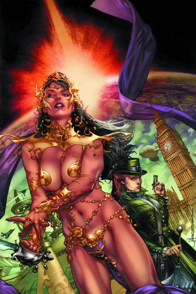 Swords of Sorrow: Dejah Thoris & Irene Adler #1 (Virgin Cover)