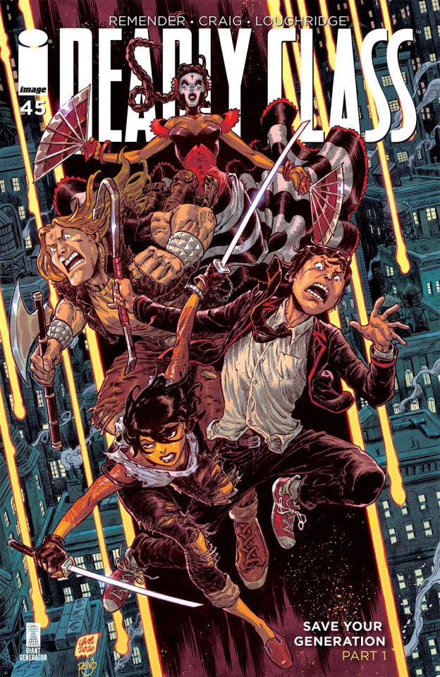 Deadly Class #45 (Level & Dinisio Cover)