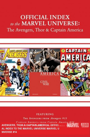 The Official Index to the Marvel Universe #14: The Avengers, Thor & Captain America