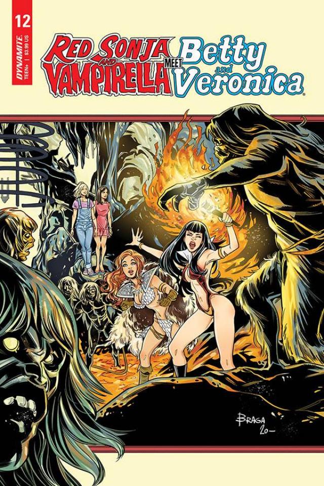Red Sonja and Vampirella Meet Betty and Veronica #12 (Braga Cover)