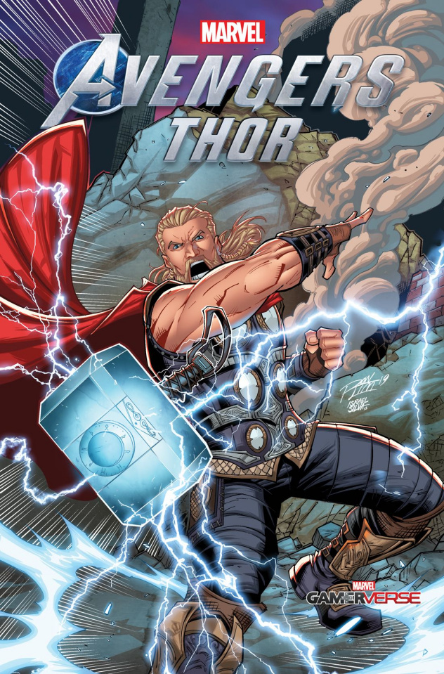 Avengers: Thor #1 (Ron Lim Cover)