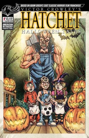 Hatchet: Halloween Tales #1 (Calzada Cover)