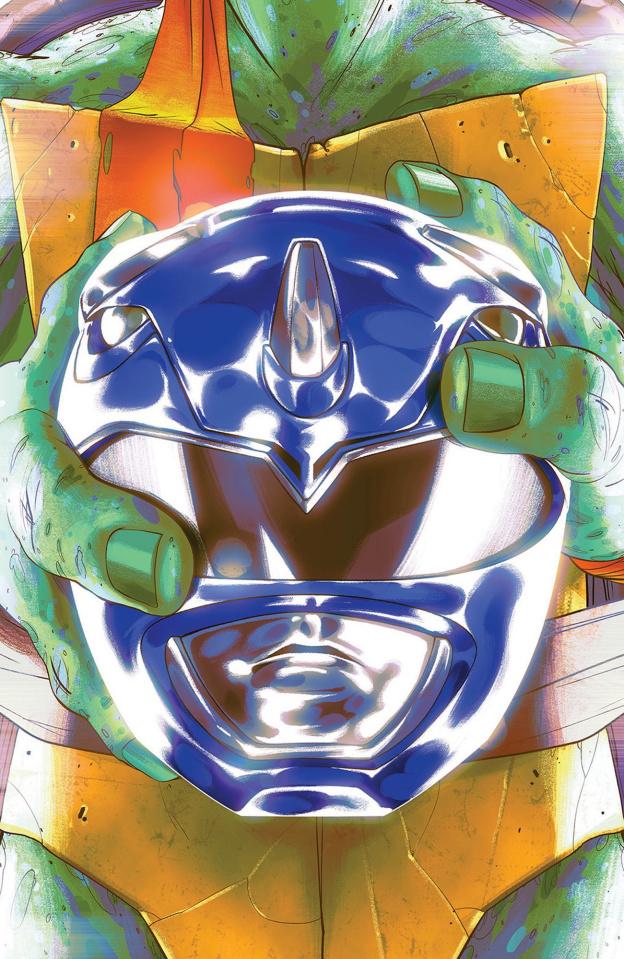 Power Rangers / Teenage Mutant Ninja Turtles #3 (Mike Montes Cover)