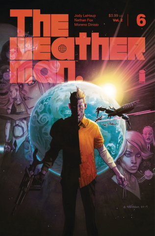 The Weatherman #6 (Robinson Cover)