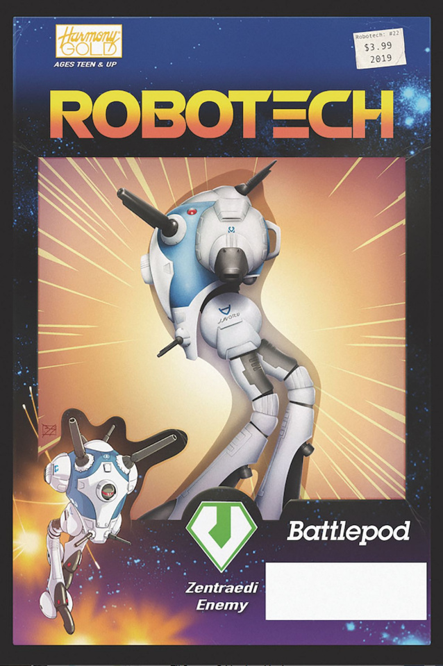 Robotech #22 (Vehicle Action Figure Cover)