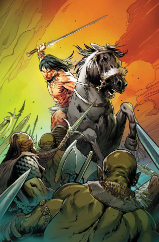 Conan the Barbarian #3 (Land Cover)