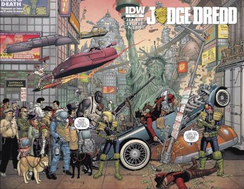 Judge Dredd #1 (10 Copy Cover)