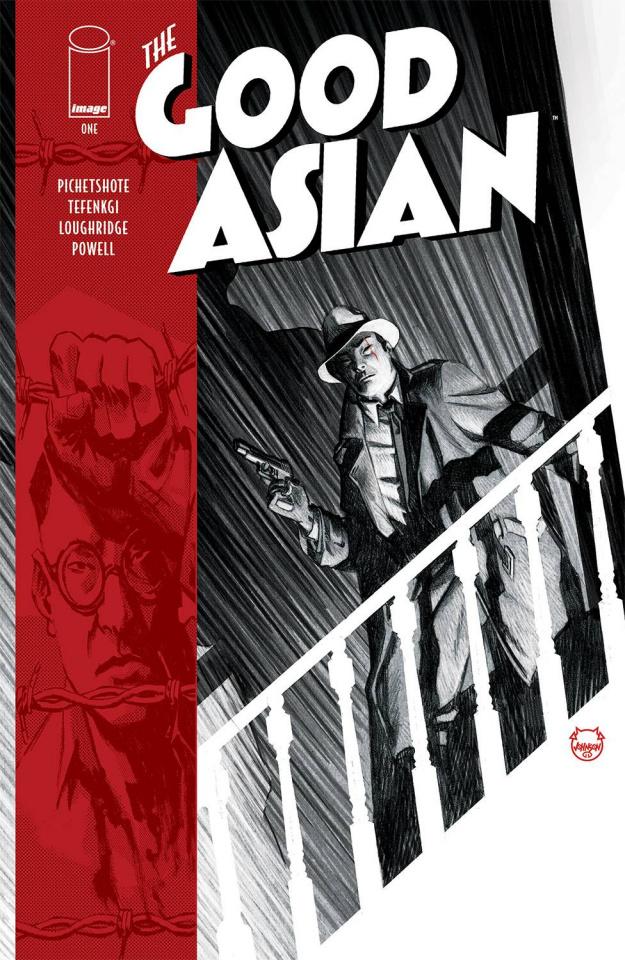The Good Asian #1 (Johnson Cover)