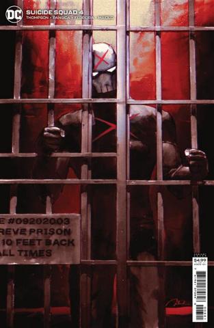 Suicide Squad #4 (Gerald Parel Card Stock Cover)